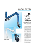 Fumex - Local Extractor with Gas Spring for Welding Stations - Brochure