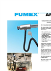 Fumex - APS Series - Exhaust Fume Rail for Worksites with Moving Vehicles - Brochure