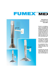 Fumex - MEX AA - Telescopic Local Extractor for Atom Absorption Apparatus - Brochure