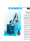 Fumex - MF Series - Mobile Weld-fume Filter for Temporary Worksites - Brochure