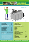 Big Hanna - Model T40 - Food Waste Composter - specification