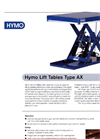 Hymo - Type AX - Lift Tables Brochure