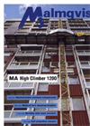MALMQVIST - Model 1200 - High Climber Workplatform Brochure