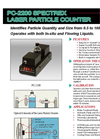 Spectrex - Model PC-2200 - Laser Particle Counter – Brochure