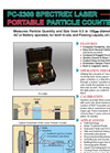 Spectrex - Model PC-2300 - Portable Laser Particle Counter – Brochure
