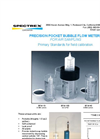 Spectrex - Precision Pocket Bubble Flow Meters for Air Sampling – Brochure