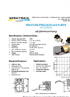 Spectrex - Model AS-300 - D.C. Input Pump Brochure