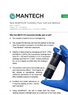 New MANTECH Turbidity Flow Cell and Method