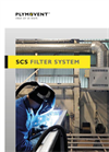 SCS filter system: Self-cleaning filter system removes welding fumes efficiently (Brochure)