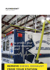Remove diesel exhaust from EMS stations
