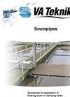 VA Teknik - Scum Pipe for Separation of Floating Scum Brochure