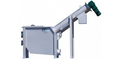 Mellegard & Naij - Model SS - Spiral Screen for Separation of Solids from Water