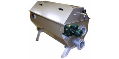 Mellegard & Naij - Model RS - Drum Screen for Separation of Solids from Water