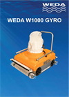 GYRO - Model W1000 - High Precision Large Pool Cleaner Brochure
