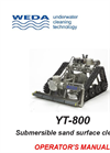 Model YT800 - Sand Filters and Large Basins Cleaning System - Operating Manual