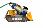 WEDA - Model YT-600 - Remote Controlled Sediment Removal  Vehicle for Cooling Towers etc.