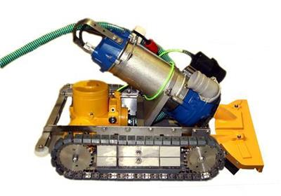 WEDA - Model YT-600 - Remote Controlled Vehicle for Sediment (Sludge) Removal