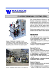 Fluoride Removal Systems - Brochure