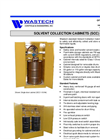 Solvent Collection Cabinets - Brochure