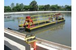 Automated solutions for the wastewater treatment pond / lagoon / plant dredging