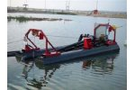 Automated solutions for the industrial lagoon / pond dredging
