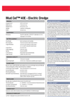 Mud Cat - Model 40E - Electric Auger Dredges Brochure