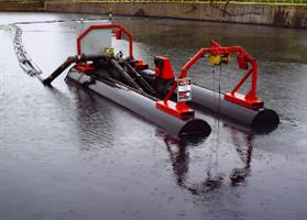 Mud Cat - Model 50E - Electric Auger Dredges