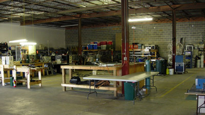 North Carolina Workshop and Equipment Repair Facility