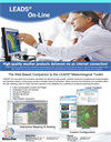 Version LEADS On-Line - The Web-Based Companion- Meteorological Toolkit Software- Brochure