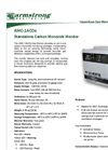 AMC - Model 1ACOs Series - Standalone Carbon Monoxide Monitor - Specification Brochure