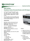 AMC - Model 1ACOsv Series - Standalone Carbon Monoxide Monitor with VFD Output - Specification Brochure