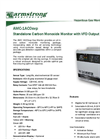 AMC-1ACOsvp Standalone Carbon Monoxide Monitor with ECM Fan Output Specification Brochure