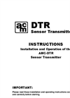 AMC - Model DTR Series - Non-Intrusive Digital Transmitter - Specifications Brochure