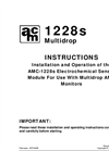 AMC - Model 1220 Series - Electrochemical Sensor - Specification Brochure