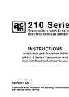 AMC - Model 210 Series - Electrochemical Sensor/Transmitter - Specification Brochure