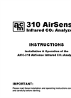 AMC - Model 310 Series - Infrared Carbon Dioxide Sensor/Tansmitter - Specification Brochure