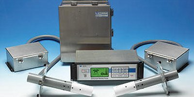 Model UltraFlow 150 - Ultrasonic Gas Flow & Temperature Monitor
