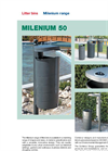 Contenur - Model Milenium 50 - Litter Bins - Brochure