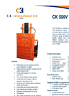 CK - 500V - Mill Sized Balers – Brochure