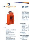CK - 500VLUD - Mill Sized Balers – Brochure