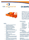 CK - 850HFE-PC - Horizontal Balers – Brochure
