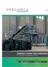 Model 8-02-50 - Scrap Tire Shredders Brochure
