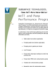 Well and Pump Performance Program Service Brochure