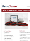Model CMS-100 - Web Logger Continuous Monitoring System Brochure