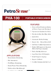 PetroSense - Model PHA-100 - Portable Hydrocarbon Analyzer - Brochure