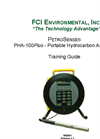PetroSense - PHA-100Plus - Portable Hydrocarbon Analyzer Training Guide