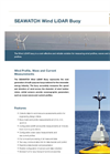 SEAWATCH Wind LiDAR Multi Purpose Buoys Brochure