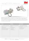 NEO Monitors LaserGas - Model III OP NH3 - Gas Detector Sensor Brochure