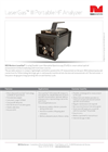 NEO Monitors LaserGas III Portable On-Site HF Measurement Analyser Brochure