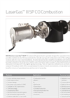 LaserGas - Model III SP CO - Compact Combustion Analyzer System Datasheet